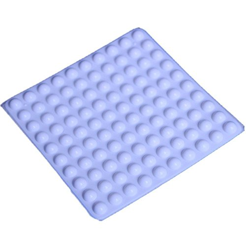 White Self-adhesive Rubber Feet Small Bumpers (100pcs), Great for Ash Tray, Cabinet, Projects, Etc, .32