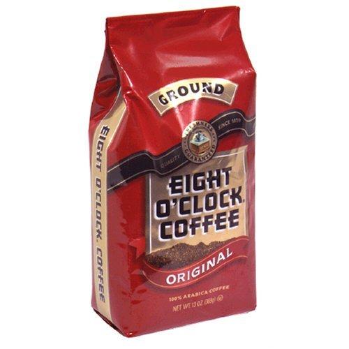 Eight O'Clock Coffee, Original Ground, 12-Ounce Bag (Pack of 4)