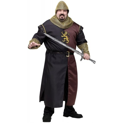 Valiant Knight Costume - Plus Size - Chest Size 48-53