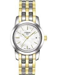 Tissot Classic Dream Two-tone PVD Mother-of-Pearl Dial Women's Watch #T033.210.22.111.00