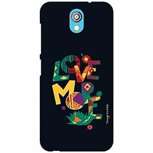 Design Worlds - HTC Desire 526G Designer Back Cover Case - Multicolor Phone C...