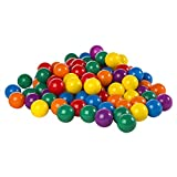 Intex Fun Ballz - 100 Multi-Colored 3 1/8