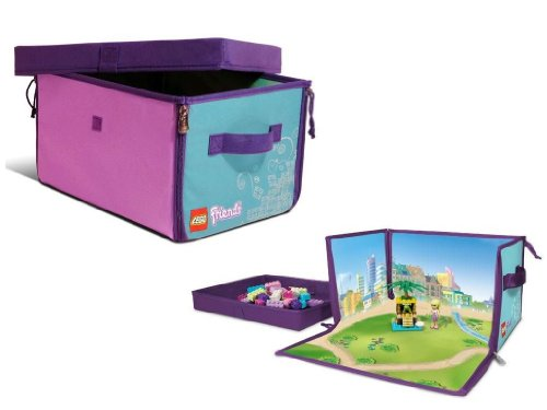 get neat oh lego friends zipbin 1000 brick toy box at petals and stem. Black Bedroom Furniture Sets. Home Design Ideas