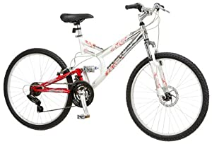 Mongoose Women's Woodland Bicycle (White)