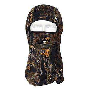 Coxeer® Fleece Jungle Camouflage Balaclava Outdoor Headgear (RZG-06) by Coxeer®