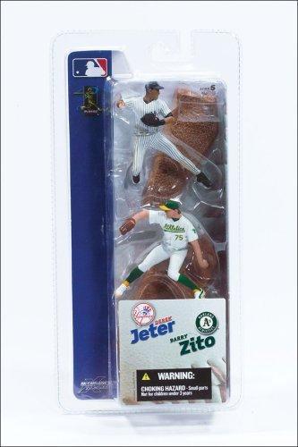 Buy Low Price McFarlane Derek Jeter & Barry Zito MLB Series Figures (B0001B4ZFY)