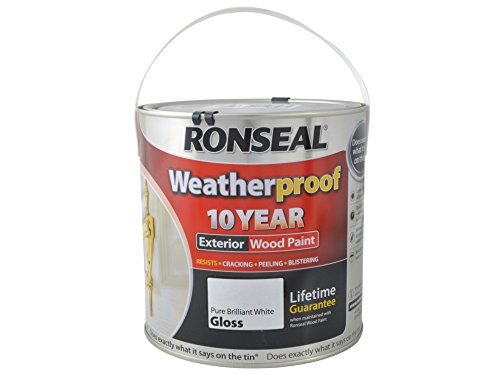 ronseal-rslwppbwg25l-25-litre-weatherproof-exterior-wood-paint-brilliant-white-gloss
