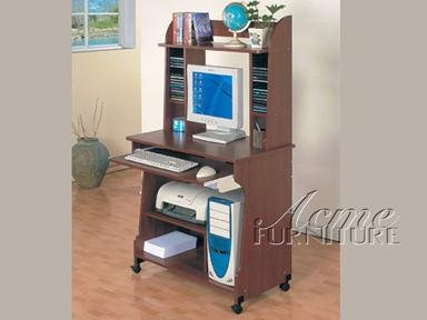 Buy Low Price Comfortable Transitional Cherry Finish Wood Computer Desk by Acme Furniture (B005G4UOII)