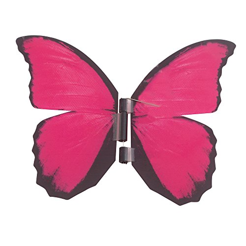 Schmetterling Morpho im Glas, Pink