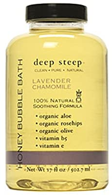 Bubble Bath Lavender and Chamomile 17 Ounces by Deep Steep