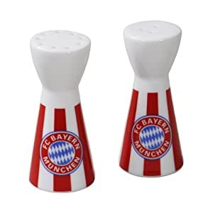 fc bayern munich salt and pepper shakers sports outdoors. Black Bedroom Furniture Sets. Home Design Ideas
