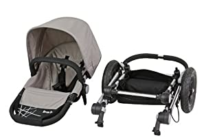 Dream On Me Acrobat Multi Terrain Stroller and Bassinet, Makado Atmo