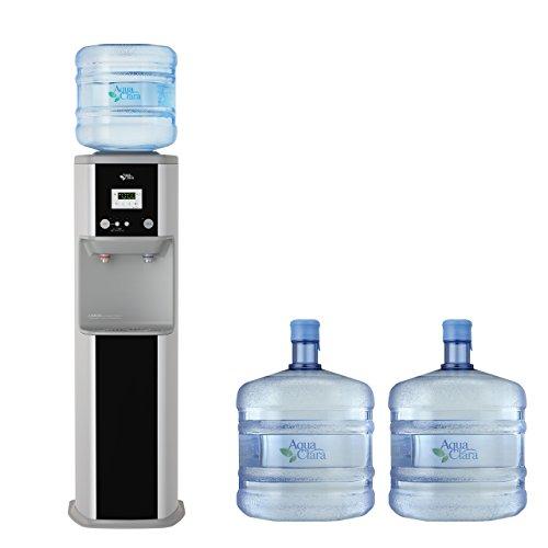 宅配水 アクアクララ はじめてセット(ウォーターサーバー アクアアドバンス クリアブラック + レギュラーボトル 3本)