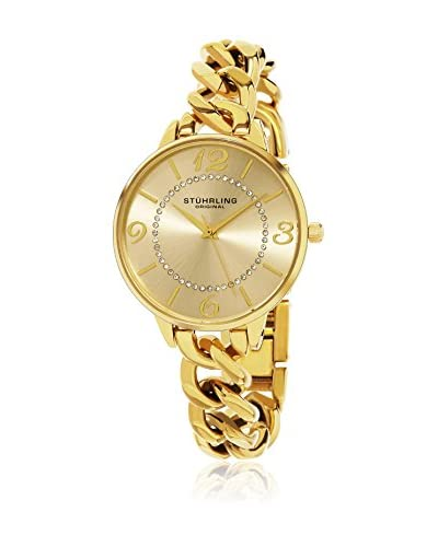 Stuhrling Original Reloj con movimiento cuarzo japonés Woman Vogue Oro 37.0 mm