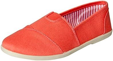 Soda Women Object Round Toe Flats Shoes,5.5 B(M) US,Light Coral L