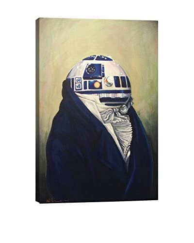 Duke R2D2 Gallery Wrapped Canvas Print