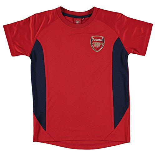 arsenal-fc-polyester-pour-homme-source-lab-football-enfants-rouge-top-t-shirt-red-2-3-ans