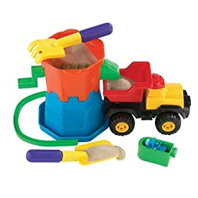 International Playthings Sandmill Dump Truck Set