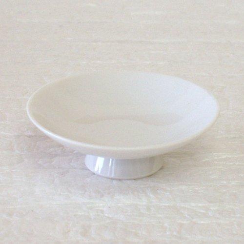 平盃 白 浅口3.0 酒器 美濃焼