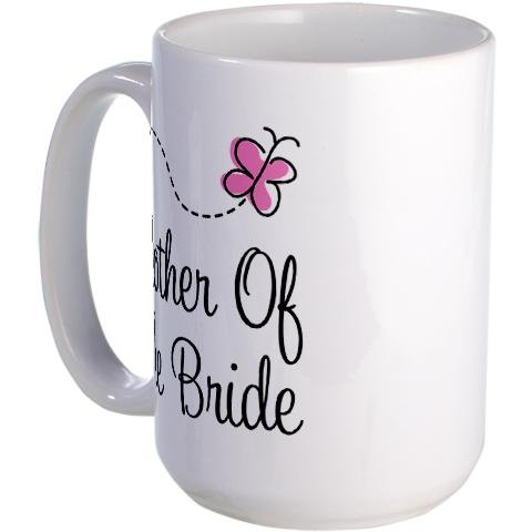 Cafepress Mother Of The Bride Wedding Cake Large Mug Large Mug - Standard