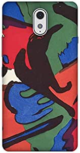The Racoon Grip The Blue Rider - Kandinsky hard plastic printed back case / cover for Lenovo Vibe P1M