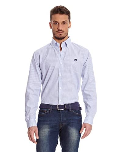 William Hunt Camisa Hombre Sugilite Azul Cielo