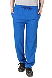 Aventura Outfitters Single Jersey Trackpant Royal Blue With Two Sky Blue Stripes - XXL (AOSJTP502-XXL)