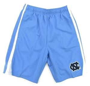 Buy Genuine Stuff North Carolina Tar Heels Youth Blue 3-Point Shorts by Genuine Stuff