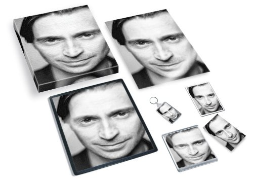 ROBERT CARLYLE - Original Art Gift Set #js001 (Includes - A4 Canvas - A4 Print - Coaster - Fridge Magnet - Keyring - Mouse Mat - Sketch Card) #js001