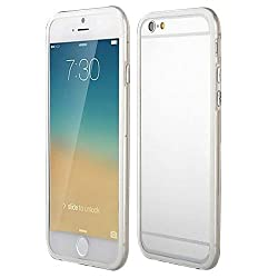 Casotec Backless Bumper Case Cover for Apple iPhone 6 Plus / 6S Plus - White