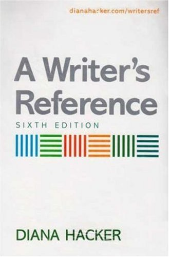 Writer's Reference, 6th Edition & I-Cite (Book & CD)