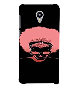 PrintVisa Cool Silhouette Man Design 3D Hard Polycarbonate Designer Back Case Cover for YU Yunicorn