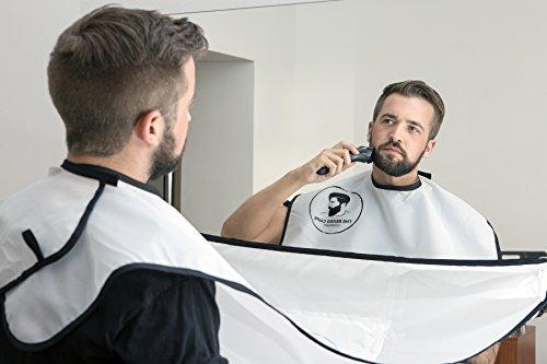 grembiule-telo-mantellina-per-rasatura-rifilatura-barba-raccogli-peli-regalo-da-uomo-bianco