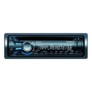 Sony MEXBT3100U.EUR Bluetooth Autoradio mit App Remote Feature für Smartphone (CD-Player, AUX-IN, USB)