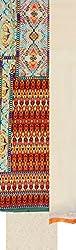 Zuha Collection Women's Cotton Dress Material (Multi)