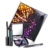 Avon SuperShock Eye Gift Set - Set Includes Supershock Mascara; Supershock Gel Eye Liner and Vivid Violet Eyeshadow Quad