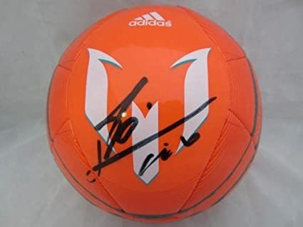 Lionel Messi Signed Soccer Ball Itp Loa 6a70837 - PSA/DNA Certified - Autographed Soccer Balls