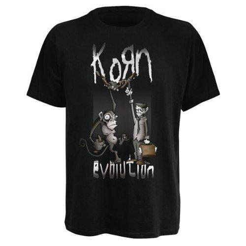Korn - T-Shirt Monkey Hang (in S)