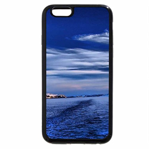 iPhone 6S Plus Case, iPhone 6 Plus Case, fantastic wake in a strait in winter