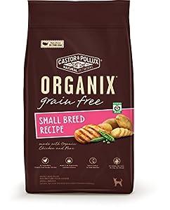 Organix Grain Free Small Breed Dry Dog Food, 4-Pound