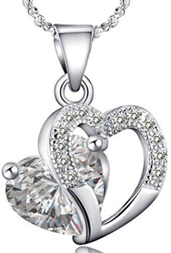 saysure-plata-de-ley-925-colgante-en-forma-de-corazon-blanco-y-morado-mujer-white-45-cm-chain