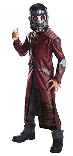 Rubie'S Guardians Of The Galaxy Deluxe Star-Lord Costume, Child Large front-1054426