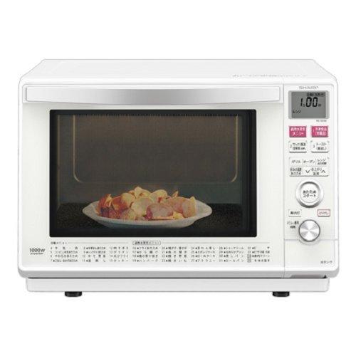 シャープ  加熱水蒸気 オーブンレンジ 1段調理 23L ホワイト RE-SS9B-W