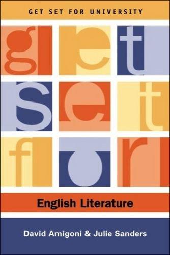 Get Set for English Literature (Get Set for University)
