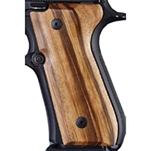 Amazon.com : Hogue Beretta 92 Grips Goncalo Alves : Gun Grips : Sports
