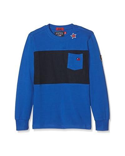 Aspen Polo Club Camiseta Manga Larga PC31M965 Azul Royal