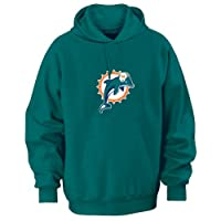 Miami Dolphins Aqua 2009 Tek Patch Hooded Sweatshirt - X-Large from Vf Imagewear