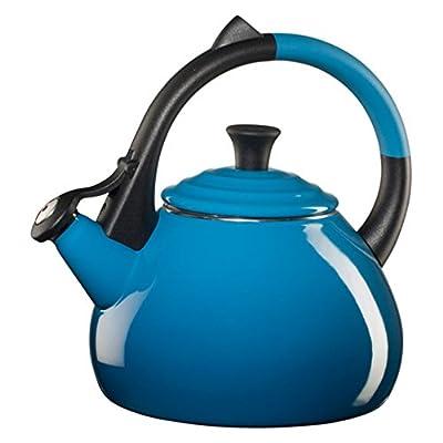 Le Creuset Oolong 1.9-qt. Enamel on Steel Whistling Teakettle - Marseille Blue