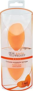 Real Techniques 2 Pack Miracle Complexion Sponge, 1-Count