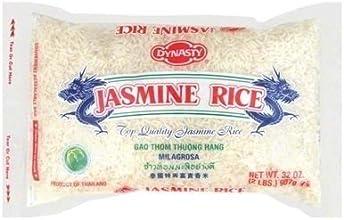 Dynasty Jasmine Rice 2 LB Pack of 3